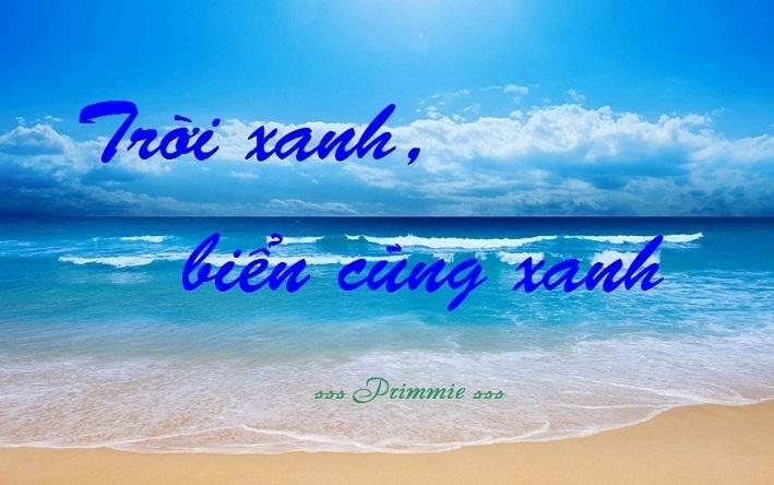 truyện ngôn tình Trời xanh, biển cũng xanh
